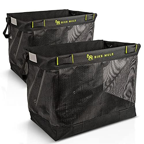 Bike Mule - Grocery Pannier Bags - The Ultimate...