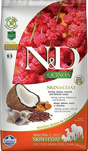 Farmina N&D Hund Quinoa Skin & Coat Hering 7kg