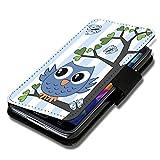 Book Style Flip Handy Tasche Hülle Schutz Hülle Schale Motiv Etui für Huawei Ascend Y300 - A35 Design6