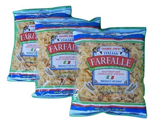 Trader Free Shipping Cheap Bargain Gift Joe's Authentic Imported Italian San Jose Mall Pasta Tie Bow Farfalle
