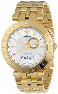 Versace Men's 29G70D001 S070 'V-Race' Stainless Steel Watch image