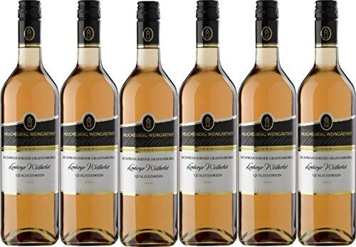 Heuchelberg Weingärtner Schwaigerner Grafenberg Lemberger Weißherbst Qualitätswein (6 x 0,75L)