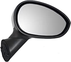 Passengers Power Side View Mirror Heated Temperature Sensor & Chrome Cover Replacement for Fiat 5182468AC 68073122AB