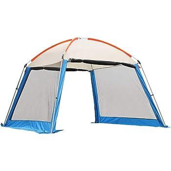 Zanzariere Forall-Ms Tende da Giardino E Gazebo da 3m,Gazebo da Esterno per Tende da Campeggio con Tendina in Mesh,Riparo per Eventi Tende da Campeggio,Tendone,Blue