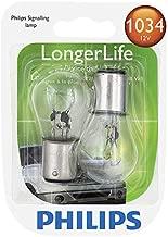Philips 1034 LongerLife Miniature Bulb, 2 Pack