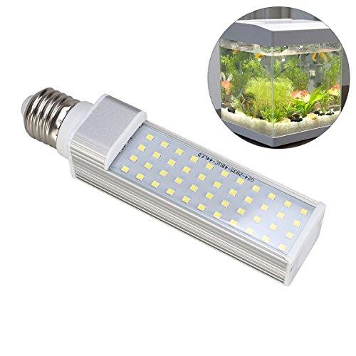 UEETEK 9W E27 LED energiesparende Lampe, um alle Fisch Hülse und Fisch Kasten Aquarien zu passen (weiß)