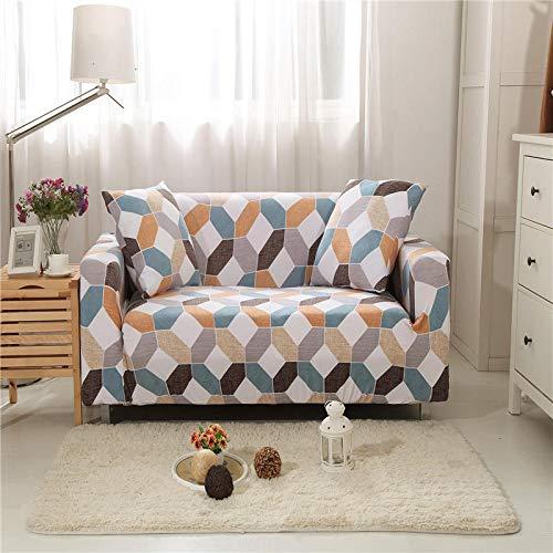 SSHHJ Nordic Fashion Geometric Striped Sofa Cover, Anti-Fouling, Easy To Install Sofa Towel, Tightly Wrapped Sofa Cushion Sofa Chair Cover