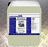 HaTec, detergente per pavimenti da officina, officine e industriali, 30 kg/tanica, detergente per pavimenti industriali, detergente per officine, rimozione di fuliggine