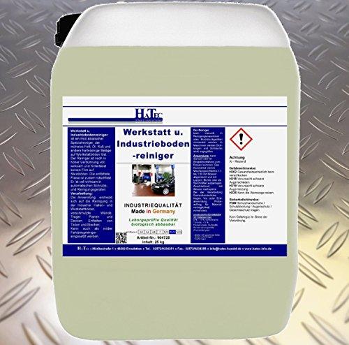 HaTec Werkstattbodenreiniger, Werkstatt- und Industriebodenreiniger 30 kg/Kanister, Industriebodenreiniger, Werkstattreiniger, Rußentferner