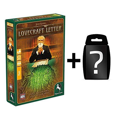 Lovecraft Letter - Kartenspiel | Familienspiel | DEUTSCH | Set inkl. Kartenspiel