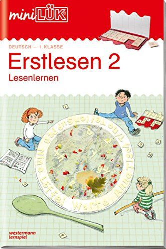 miniLÜK-Übungshefte: miniLÜK: 1. Klasse - Deutsch: Erstlesen 2: Deutsch / 1. Klasse - Deutsch: Erstlesen 2 (miniLÜK-Übungshefte: Deutsch)