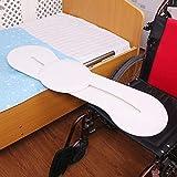 Tabla de Transferencia de Silla de Ruedas, Rotación de traslado de domicilio social de la ayuda y de la Junta de diapositivas, curvado Transmisión de escritorio, for ancianos, discapacitados y discapa