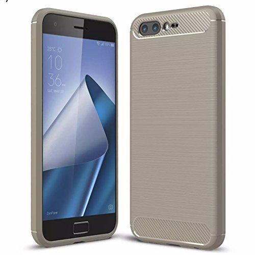 Handy Lux® Schutz Hülle Hülle Cover TPU Silikon für Nokia 5.3, Grau