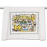 catstudio University of Michigan Collegiate Dish & Hand Towel | Great for Kitchen, Bar, & Bathroom