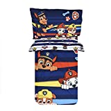 PAW Patrol Toddler Bedding Set 3-Piece Comforter Sheet Set (52' x 28')