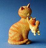 Statue Frohe Tage Katzen von Albert Dubout