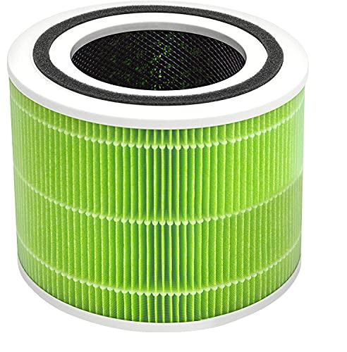 LEVOIT Ersatzfilter gegen Schimmel und Bakterien für Core 300 und Core 300S, H13 HEPA Filter, hocheffizienter Aktivkohlefilter und Vorfilter, für Allergiker Raucher