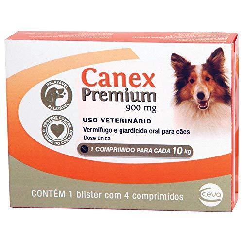 Vermífugo Canex Premium Cães 900mg Cães 10kg Ceva Ceva para Cães
