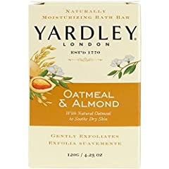 Leave your skin soft and supple with a warm natural scent, delicious, unforgettable scent The delicious scent of crushed almonds and oatmeal This gentle soap contains real oatmeal to naturally exfoliate and soothe the skin. Rich, exfoliating lather w...