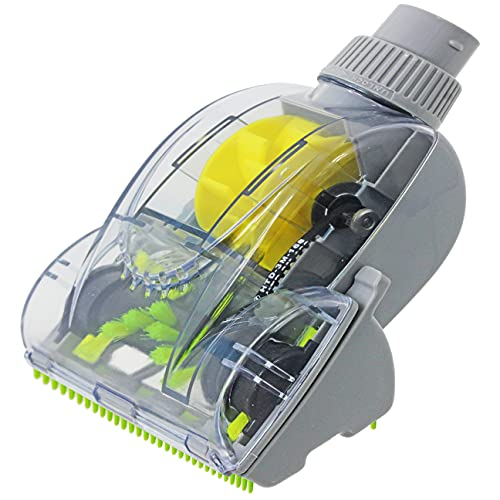 Spares2go Mini brosse turbo pour aspirateurs Vax avec diamètre de tube de 32 mm