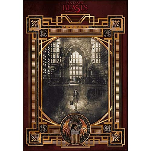 ABYstyle - Poster FANTASTIC BEASTS – MacUSA (98 x 68)