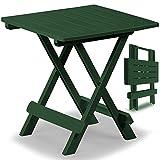 Klapptisch Adige Beistelltisch Campingtisch Gartentisch Tisch - grün