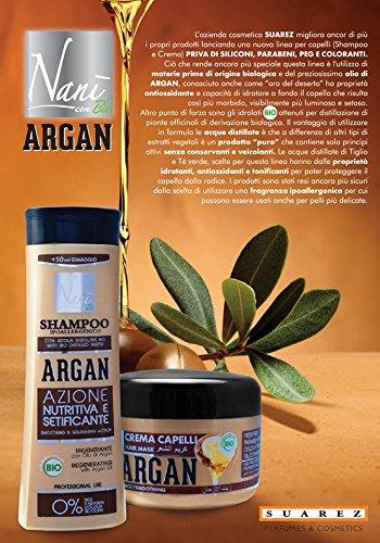 Suarez nains Shampooing Bio regenerant Huile d'Argan 0 Paraben 300 ml