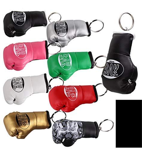 BAY® Mini Boxhandschuhe schwarz Schlüsselanhänger