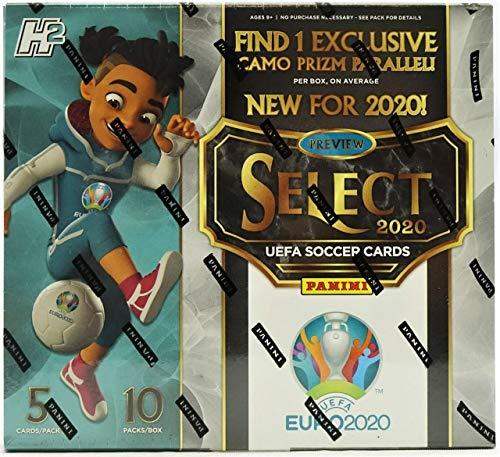 2019-20 Panini Select UEFA Euro Soccer Hobby Hybrid Box