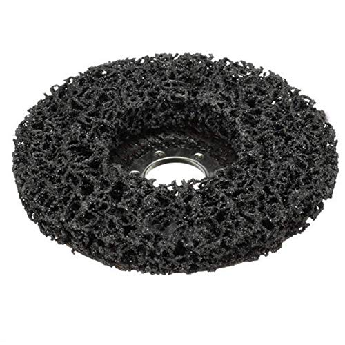 KANJJ-YU Abrasives 2 piezas de 115 mm removedor de pintura de óxido abrasivo Poly Disco Rueda para amoladora angular de 4.5 pulgadas herramientas
