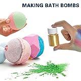 Seifenpigment Glimmerpigmente - Seifenherstellung Farbpigmente Glimmerperlenpulver für Badebombe...