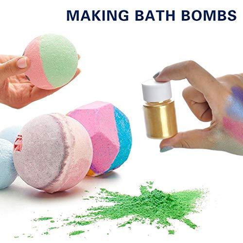 AMhomely® – Polvo de molienda de resina epoxi, juego de 15 colores ...