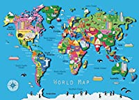 World Map 60 PC Puzzle