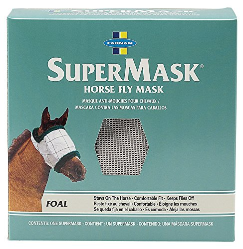 Farnam Supermask II Fly without Ears,Assorted,Floral