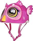 Raskullz Miniz Big Eyes Owl Helmet, Pink bike helmet for kids Apr, 2021