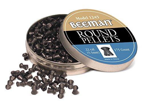 Beeman .22 Caliber Round Pellets (Pack of 175)