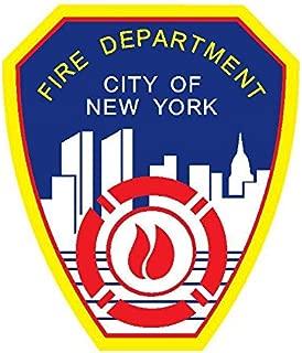 Kramer sticker's shop New York City Fire Department car Decal   5 - Sizes Banner Window Vinyl Laptop   New York City Fire Department Wall Art