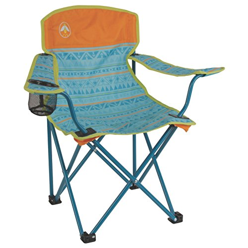 Coleman Kids Quad Chair, Teal , Small