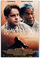 Shawshank Redemption Classic Movie Wall Art Painting Print Silk Canvas Poster Home Decor-20x28 Inch Unframed