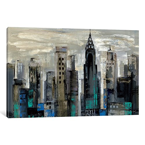 iCanvasART WAC1319-1PC3-18x12 New York Moment Canvas Print by Silvia Vassileva, 18 by 12-Inch, 0.75-Inch Deep