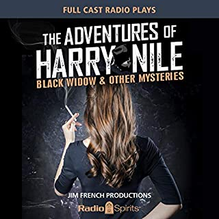 Harry Nile: Black Widow audiobook cover art