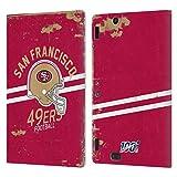Head Case Designs Licenciado Oficialmente NFL Casco Distressed Look 100th San Francisco 49ers Logo A...