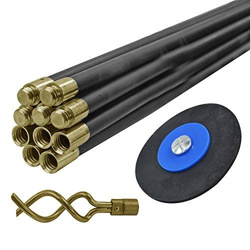 Faithfull DRSET12 - Cable desatascador de tuberías (10