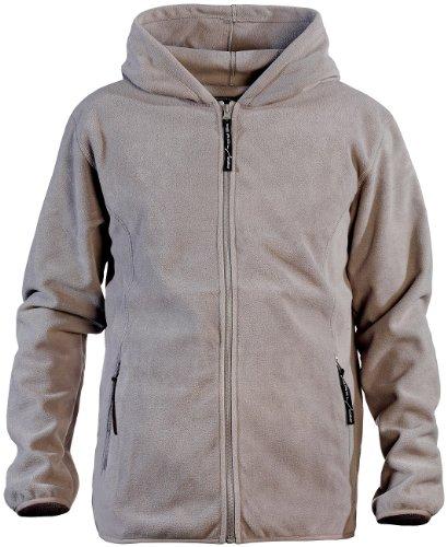 PEARL outdoor Veste en Polaire à Capuche pour Homme, Taille XXL, Gris