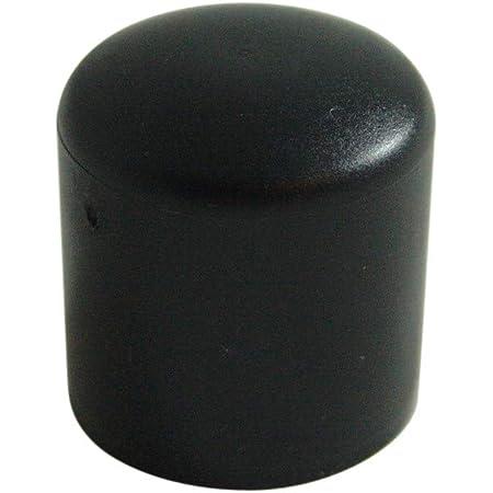 24x Gummi Fußkappen Ø 25-26 mm rund Kappe Rohr-kappe Gartenstuhl Stuhlkappe