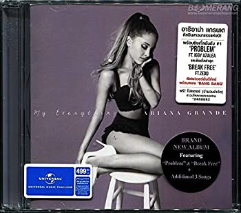 Ariana Grande  My Everything  Deluxe Edition  by Ariana Grande  2014-01-01