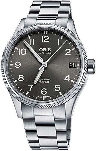 Oris Big Crown ProPilot - Reloj de pulsera para hombre (41 mm, acero inoxidable)