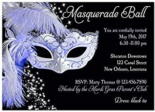 masquerade birthday invitation wording