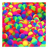 SNInc. ICY Balls in Bright 2 Two Tone Colors - 27mm Bouncy Balls - Bulk Pack of 144