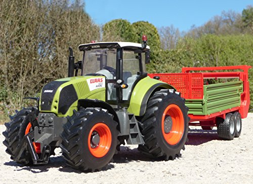 RC Traktor CLAAS Axion 870 Anhänger in XL Länge 78cm